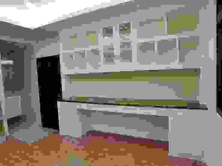 彰化室內設計-陳公宅 根據 蕊茵室內設計裝潢工程 古典風 塑木複合材料