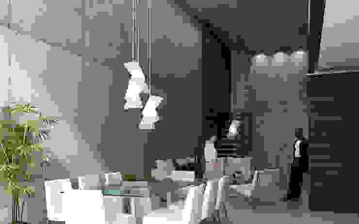 Protoforma Modern dining room Glass White