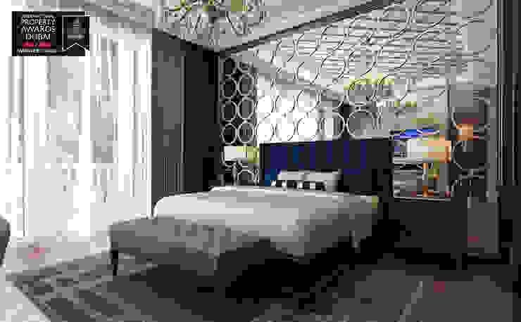 Master Bedroom - 2 / Sitak Villa Sia Moore Archıtecture Interıor Desıgn Small bedroom Solid Wood Blue