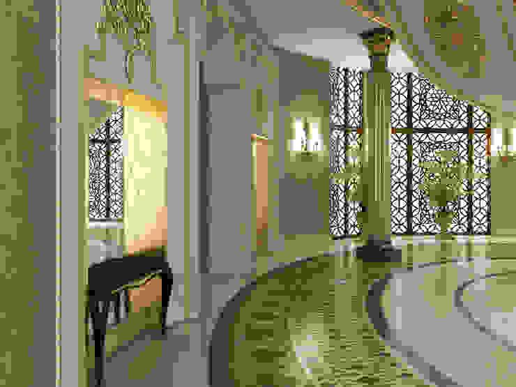 Corridor / Pearl Palace Pasillos, vestíbulos y escaleras de estilo clásico de Sia Moore Archıtecture Interıor Desıgn Clásico Mármol