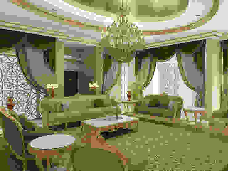 Living Room - 2 / Pearl Palace Salas de estilo clásico de Sia Moore Archıtecture Interıor Desıgn Clásico Madera maciza Multicolor