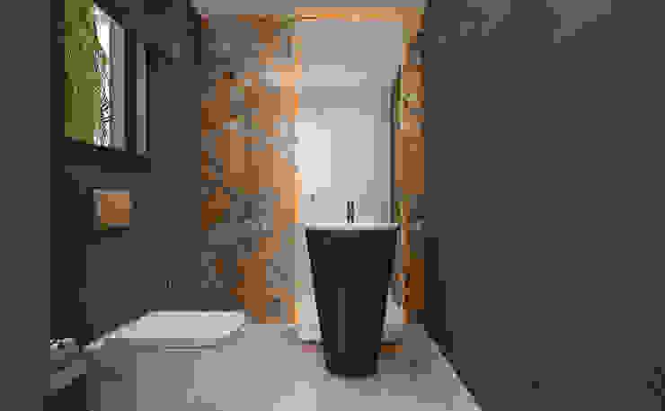 Misafir Banyo / Hayat Villaları Sia Moore Archıtecture Interıor Desıgn Modern Banyo Seramik Rengarenk
