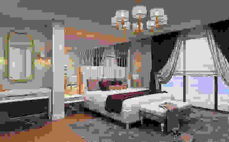 Master Bedroom / Hayat Villas by Sia Moore Archıtecture Interıor Desıgn Modern Solid Wood Multicolored