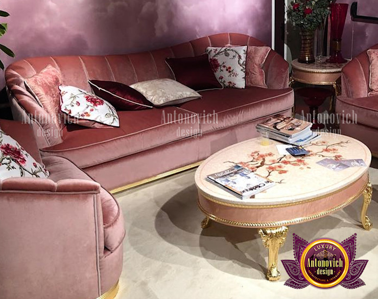 UAE's Best Beautiful Furniture Design by Luxury Antonovich Design