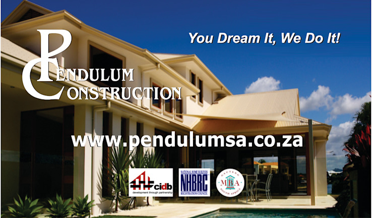 Pendulum Construction Multi-Family house Aluminium/Zinc Transparent