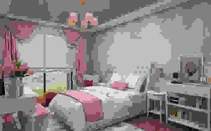 Girl Bedroom - 2 / Hayat Villas by Sia Moore Archıtecture Interıor Desıgn Modern Solid Wood Multicolored