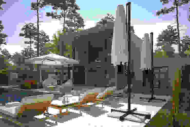 Dinlenme Alanı / Kaş Villa Sia Moore Archıtecture Interıor Desıgn Modern Seramik