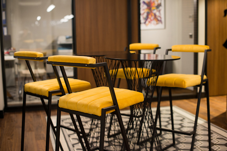 Ofis Kafe - 2 / Sia Moore Merkez Ofis Sia Moore Archıtecture Interıor Desıgn Endüstriyel Demir/Çelik