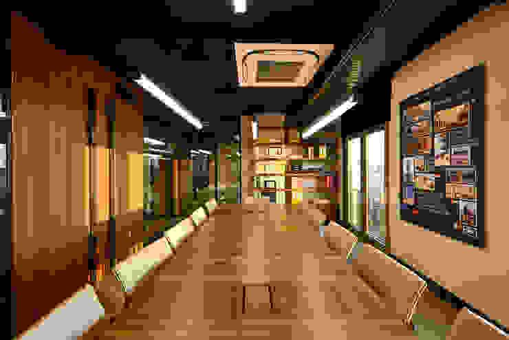 Toplantı Odası - 1 / Sia Moore Merkez Ofis Sia Moore Archıtecture Interıor Desıgn Endüstriyel Masif Ahşap Rengarenk