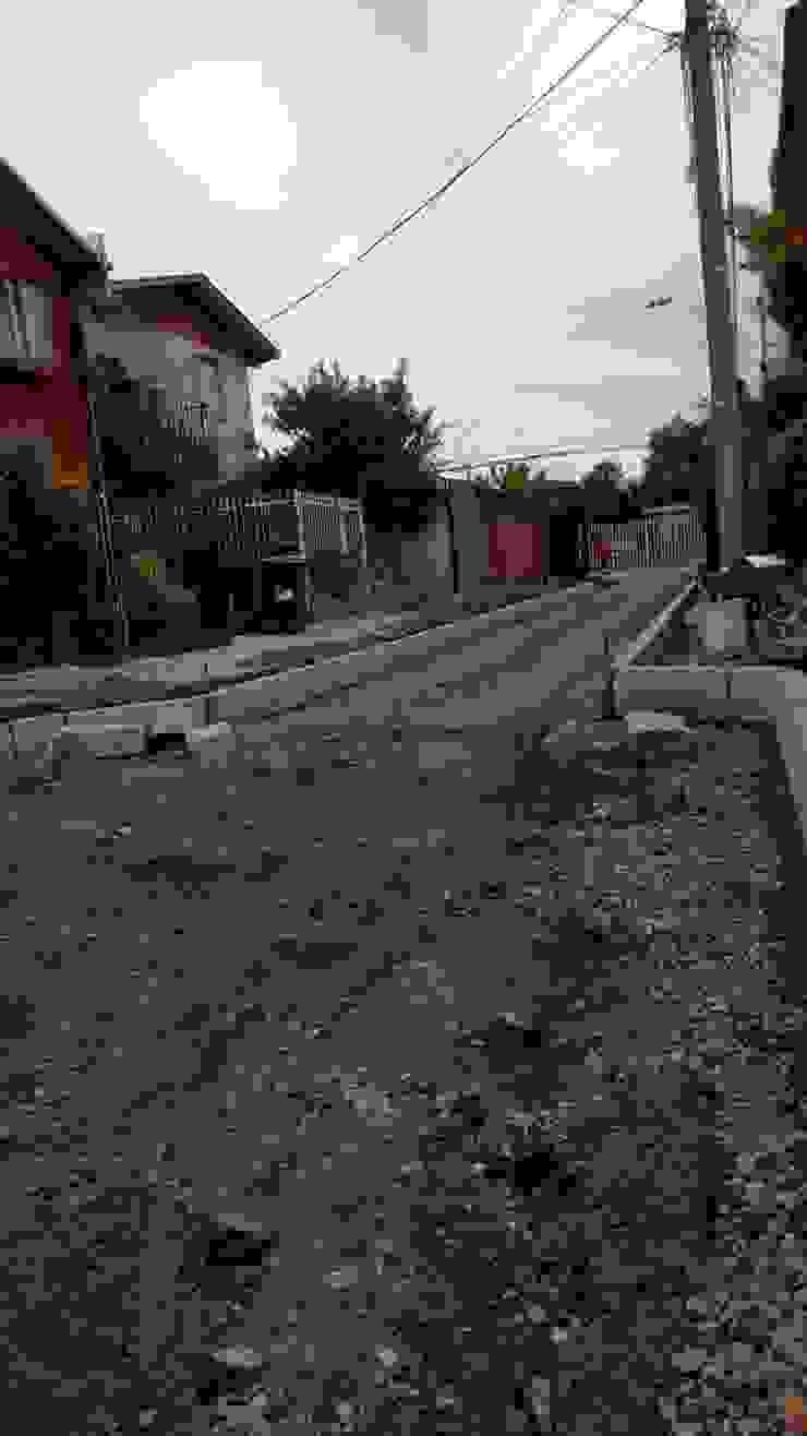 Realización de Cancha previa pavimentación de Construcciones Ardimavi