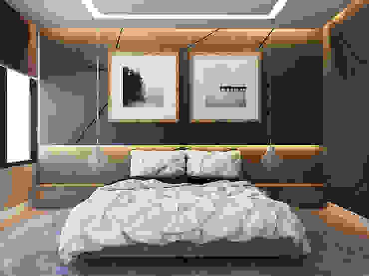Beta İç Mimarlık – SLD Evi:  tarz Yatak Odası, Modern
