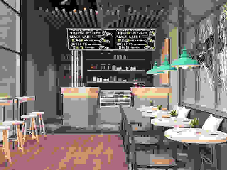 インダストリアルなレストラン の BZS | design factory インダストリアル