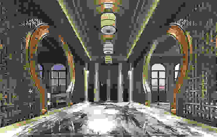 大門內廊: 經典  by 雲展建築設計 Winstarts Architectural Design Group, 古典風
