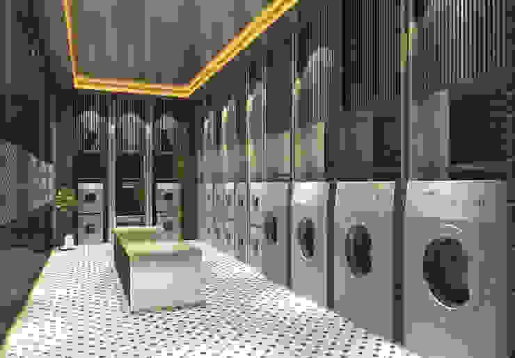 洗衣房: 經典  by 雲展建築設計 Winstarts Architectural Design Group, 古典風