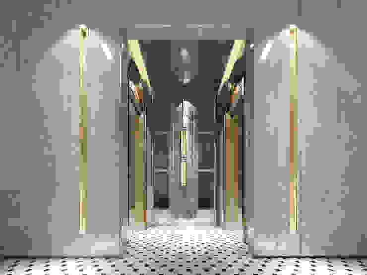 梯廳: 經典  by 雲展建築設計 Winstarts Architectural Design Group, 古典風