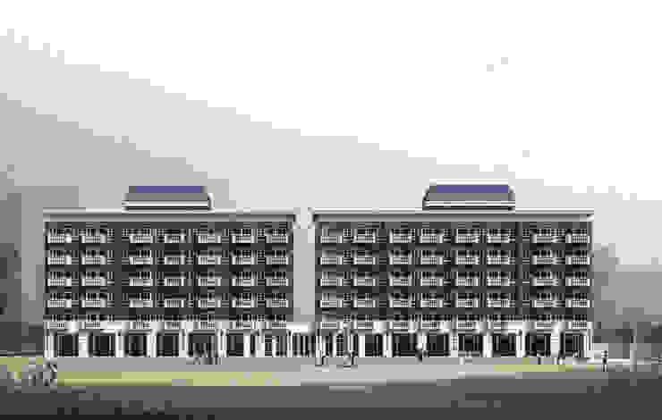 外觀: 經典  by 雲展建築設計 Winstarts Architectural Design Group, 古典風
