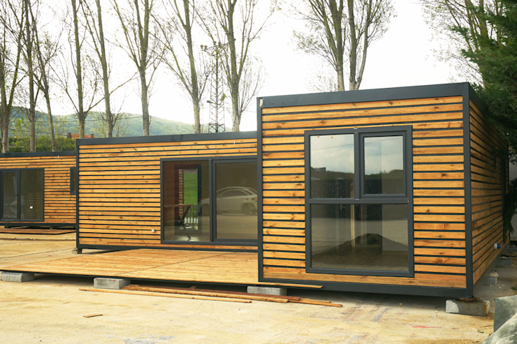 MOVİ evleri Casas de madera