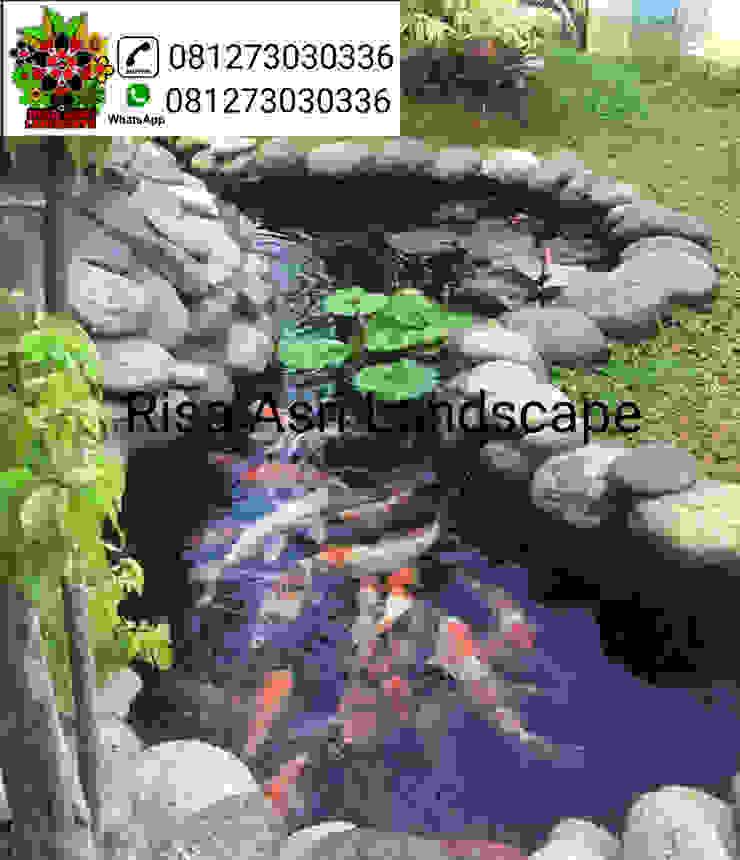 jasa pembuatan taman, kolam, vertical garden, carport batu sikat ampyangan, ornamen relif, batu alam, kolam koi, kolam renang di surabaya Oleh cv. riasla