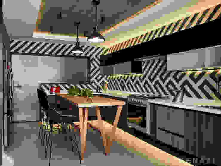 Moderne Küchen von Sulkin Askenazi Modern