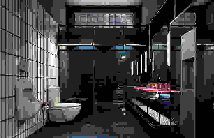 Eklektyczna łazienka od Metaphor Design Studio Eklektyczny