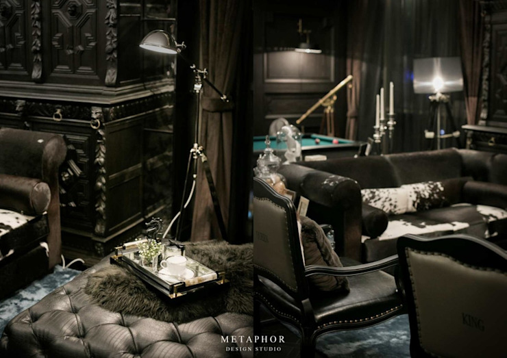 The Dark Night โดย Metaphor Design Studio คลาสสิค ไม้ Wood effect