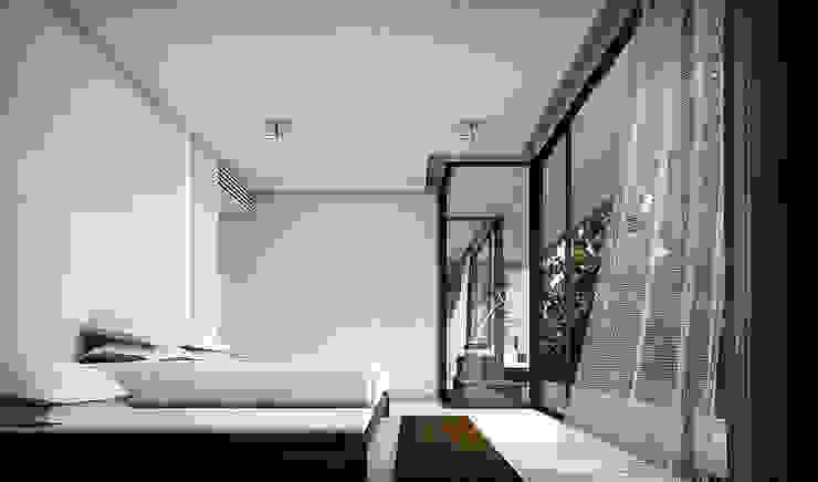 Metaphor Design Studio ห้องนอน White