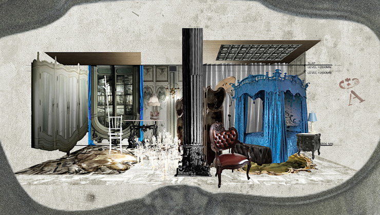 Metaphor Design Studio ห้องนอน