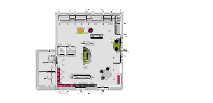 Concept Store Planimetria serenascaioli_progettidinterni Negozi & Locali commerciali moderni