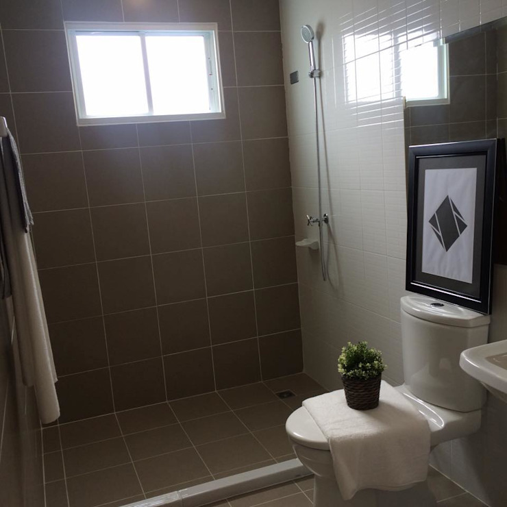 Pruksa House UpMedio Design ห้องน้ำ