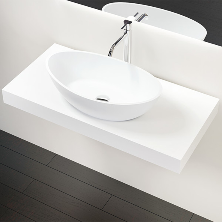 de estilo  por Badeloft GmbH - Hersteller von Badewannen und Waschbecken in Berlin, Moderno