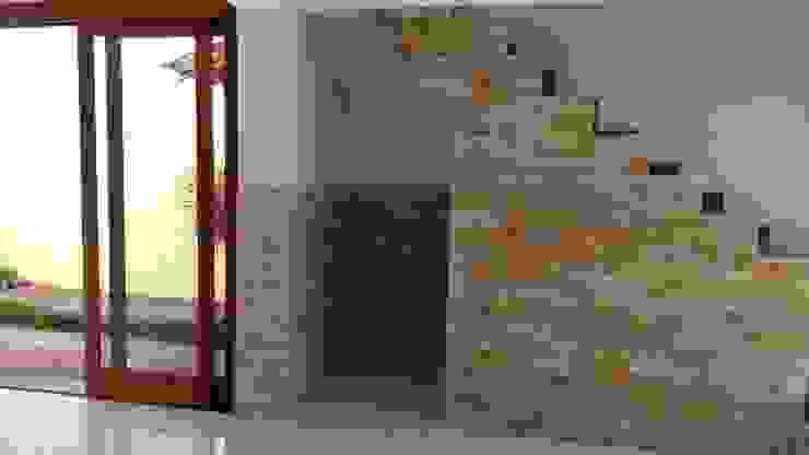 Murs & Sols rustiques par Rebello Pedras Decorativas Rustique Grès