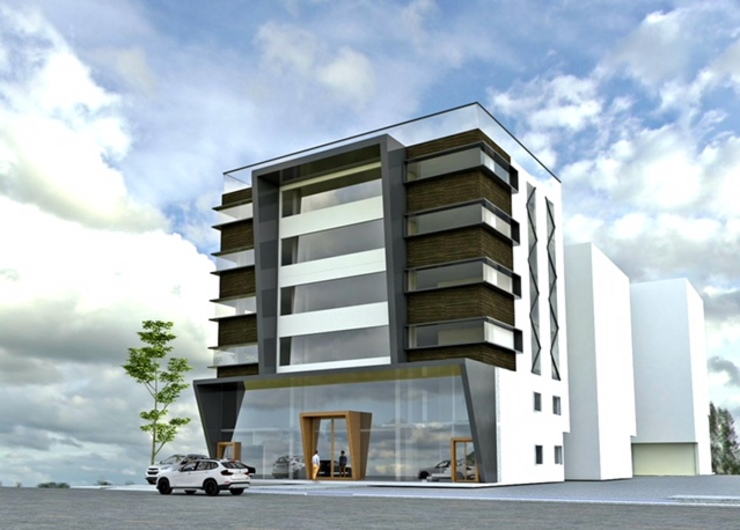 3d Elevation:  Hotels by Design Cell Int,