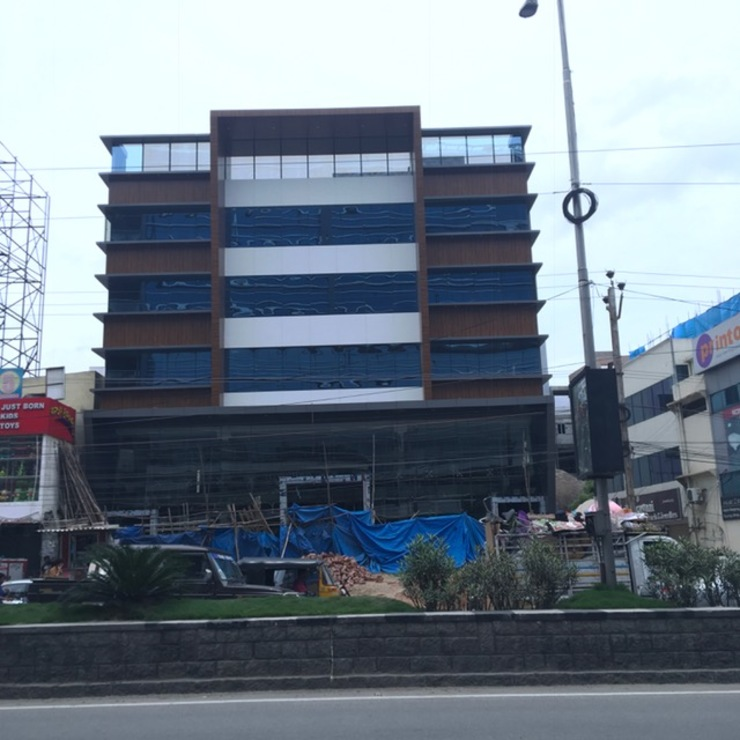 Actual Elevation on completion:  Hotels by Design Cell Int,