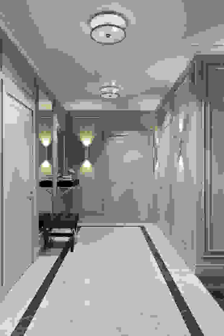 Pasillos, vestíbulos y escaleras de estilo escandinavo de 'INTSTYLE' Escandinavo