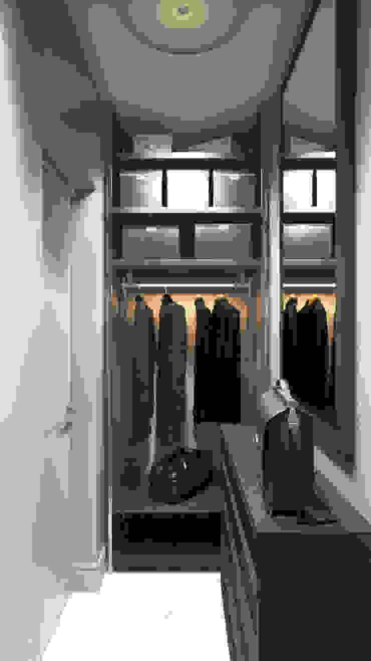 Closets de estilo escandinavo de 'INTSTYLE' Escandinavo