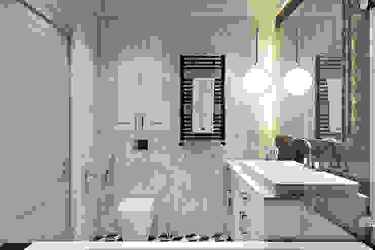 Квартира в ЖК «RedSide (РедСайд)» Ванная комната в скандинавском стиле от 'INTSTYLE' Скандинавский