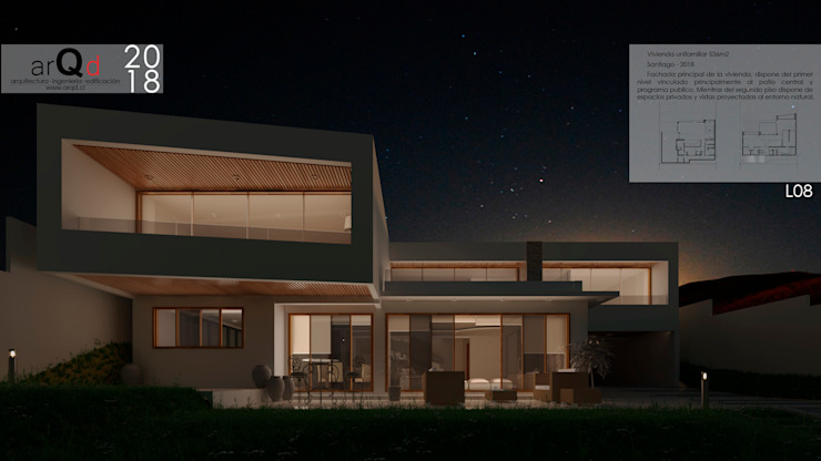 Single family home by ARQD spa,