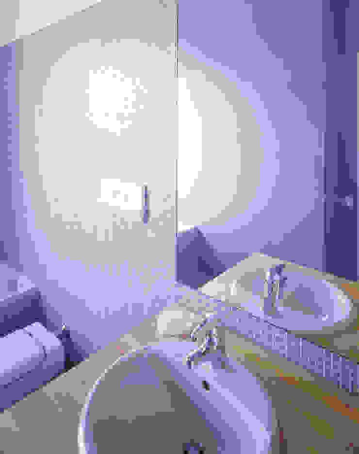 Dettaglio bagno; Scaglione Workshop architettura e design Bagno moderno