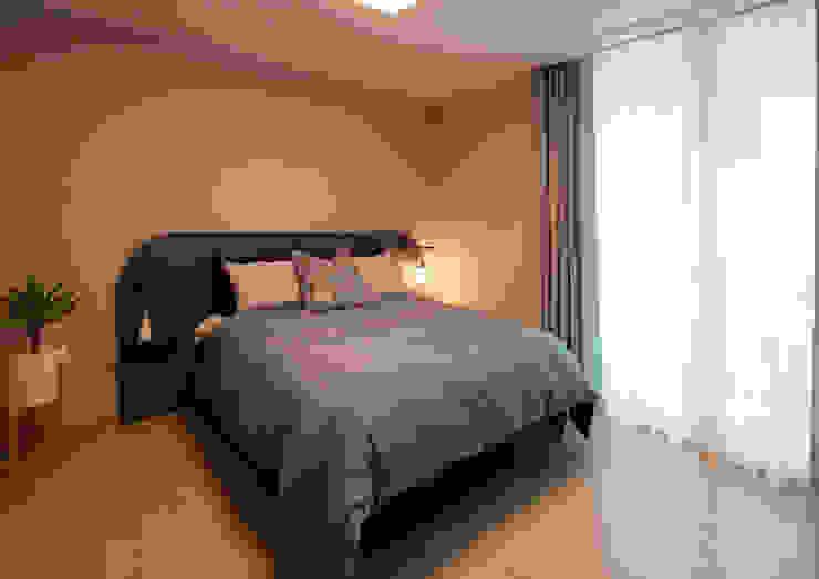 Bed room 1 | 수원 영통 아이파크 캐슬 34py 새아파트 홈스타일링 모던 스타일 쇼핑 센터 by 홈리에종 모던