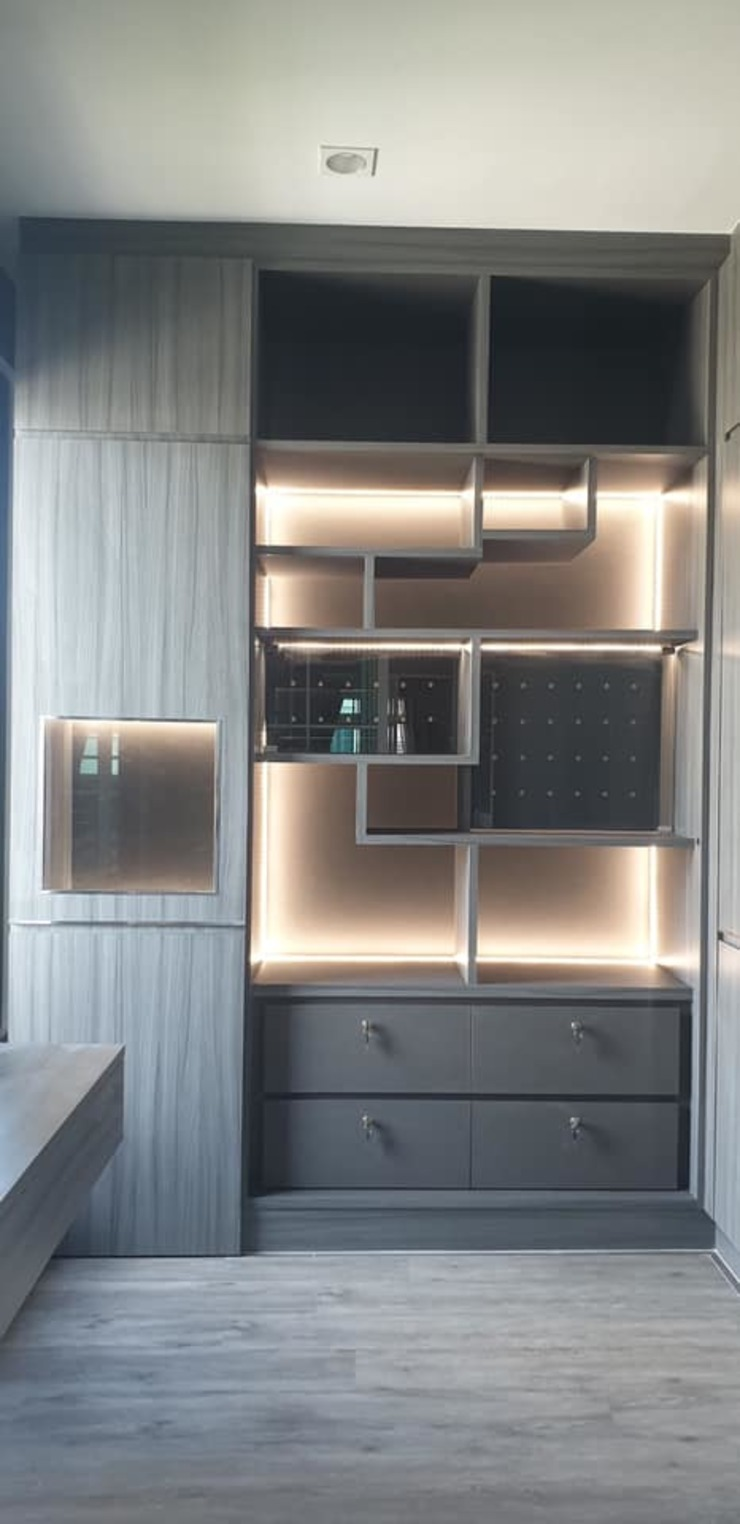 Ban Nantawan UpMedio Design Modern style bedroom