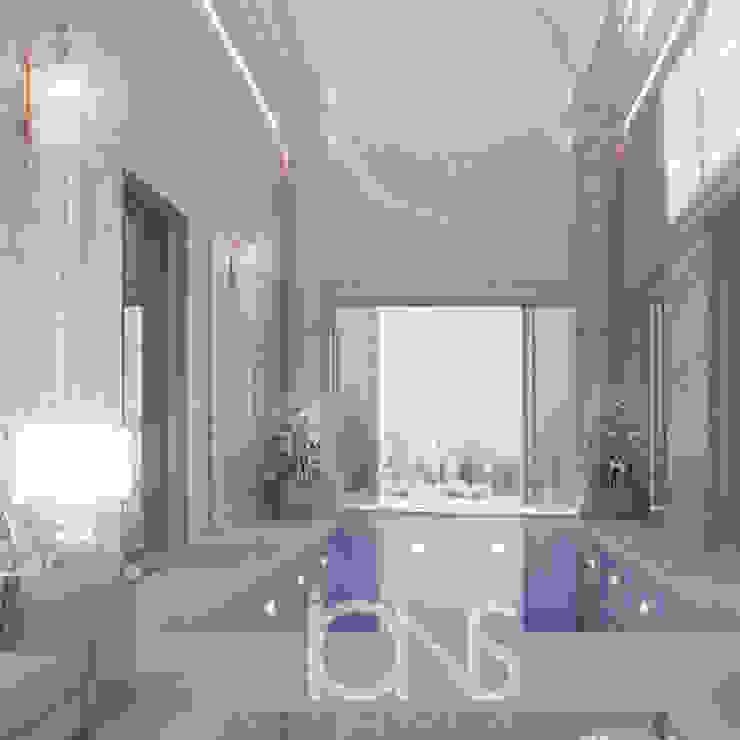 Refreshing Roman Style Indoor Pool