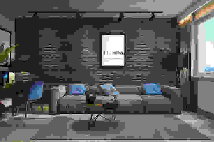 by dm-interiors.com.ua Iндустріальний Бетон
