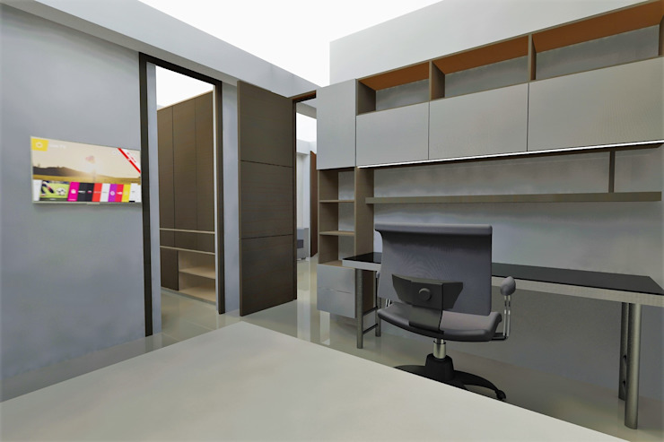 Modern study/office by MARROOM | Diseño Interior - Diseño Industrial Modern