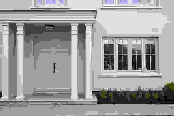 Bespoke Wood Windows & Doors For A London Home Marvin Windows and Doors UK Windows & doors Windows Kayu Grey