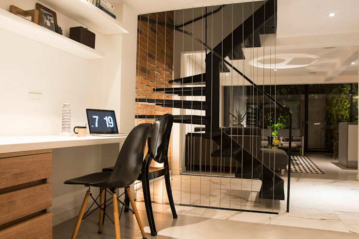 by CHAVARRO ARQUITECTURA Modern Metal