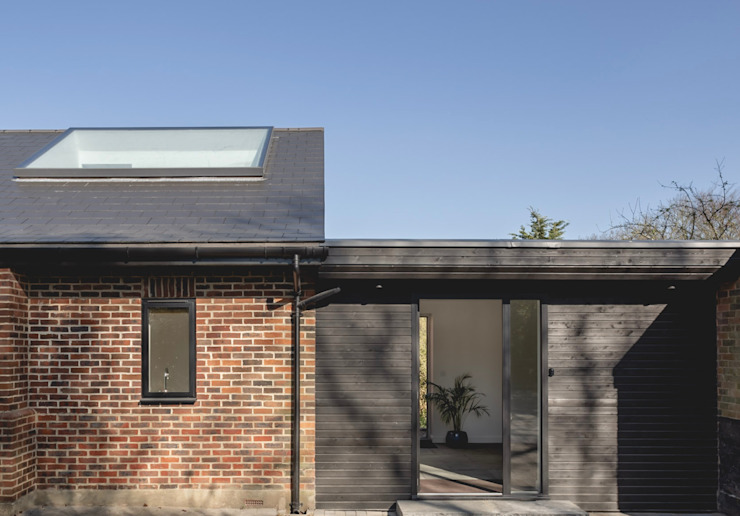 S /HE006 – Ide Hill, Sevenoaks – Private Residential de Studio HE (S /HE) Moderno Madera Acabado en madera