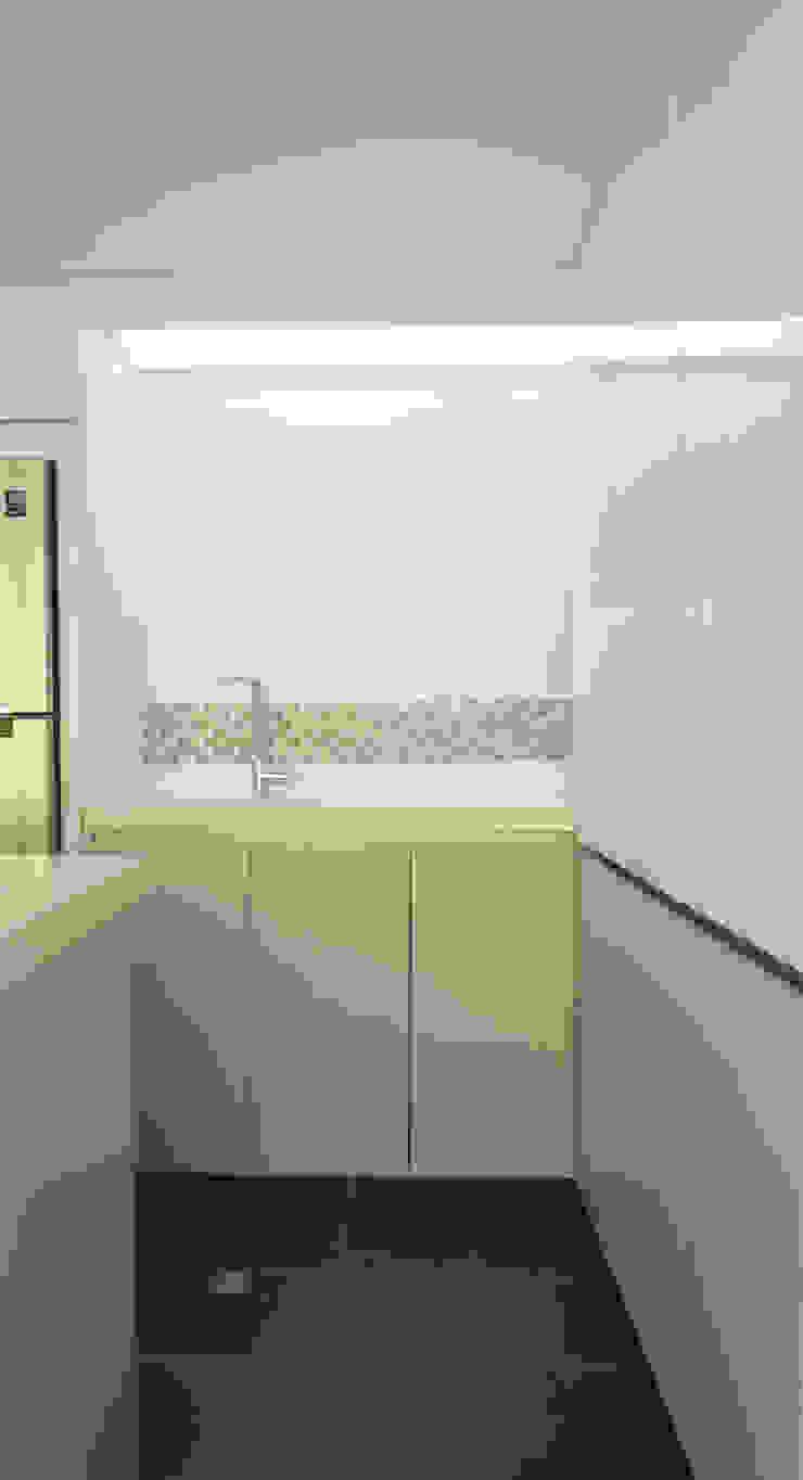 Mueble Cocina de TikTAK ARQUITECTOS Moderno Aglomerado