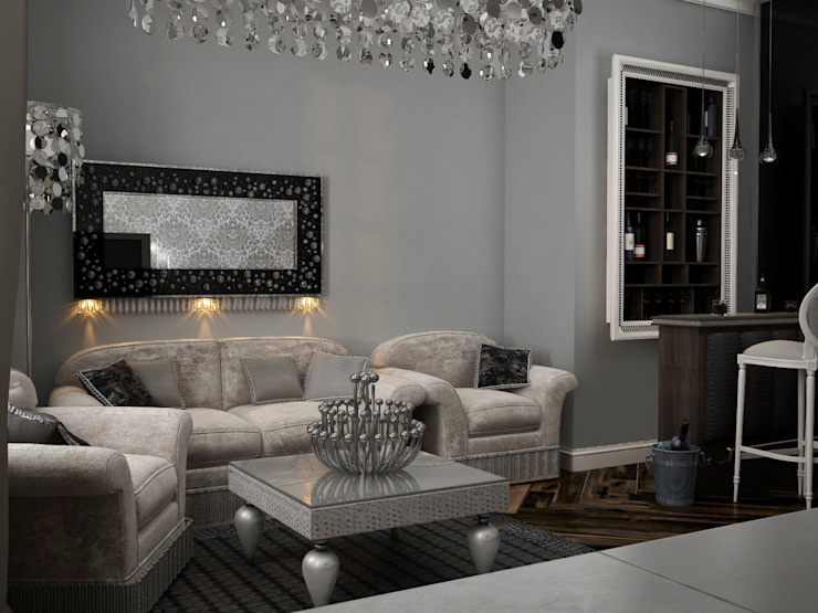 Klassische Wohnzimmer von Irina Yakushina Klassisch