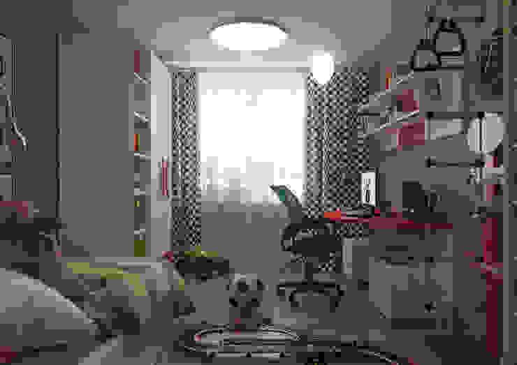 Minimalistische Kinderzimmer von Irina Yakushina Minimalistisch