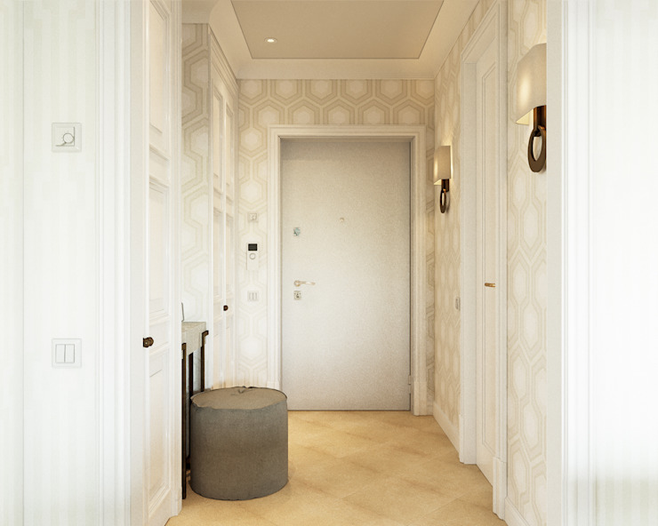COD Design Classic style corridor, hallway and stairs